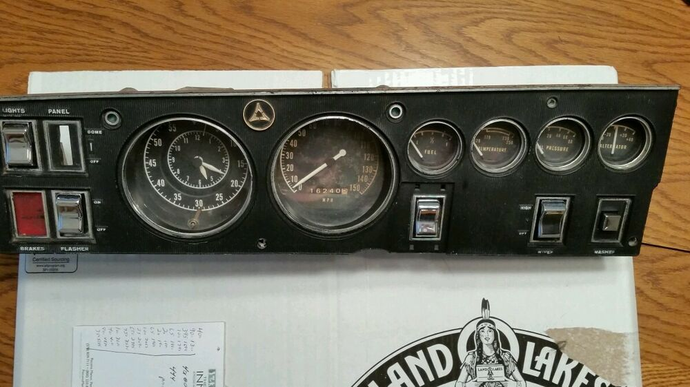 1968 dodge charger mopar rally dash panel hemi