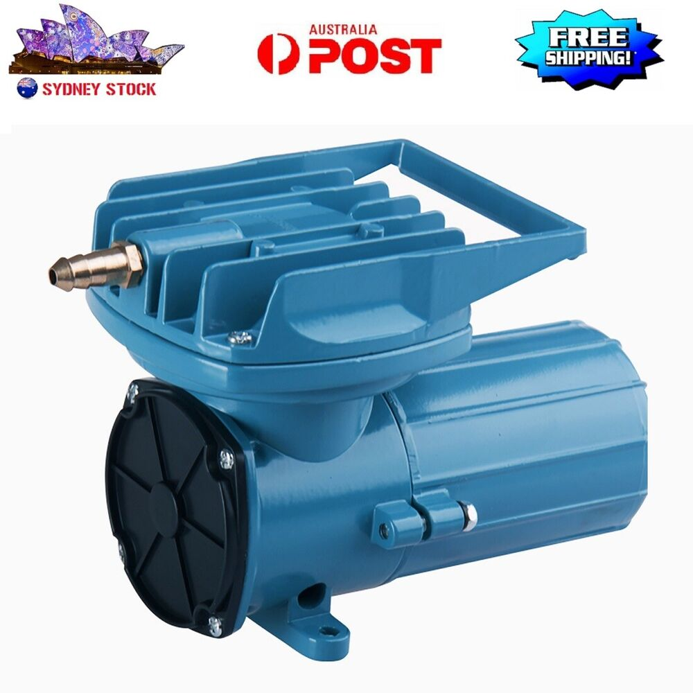 Dc12v 38lpm Compressor Air Pump For Fish Pond Hydroponics Aquarium Au Stock Ebay
