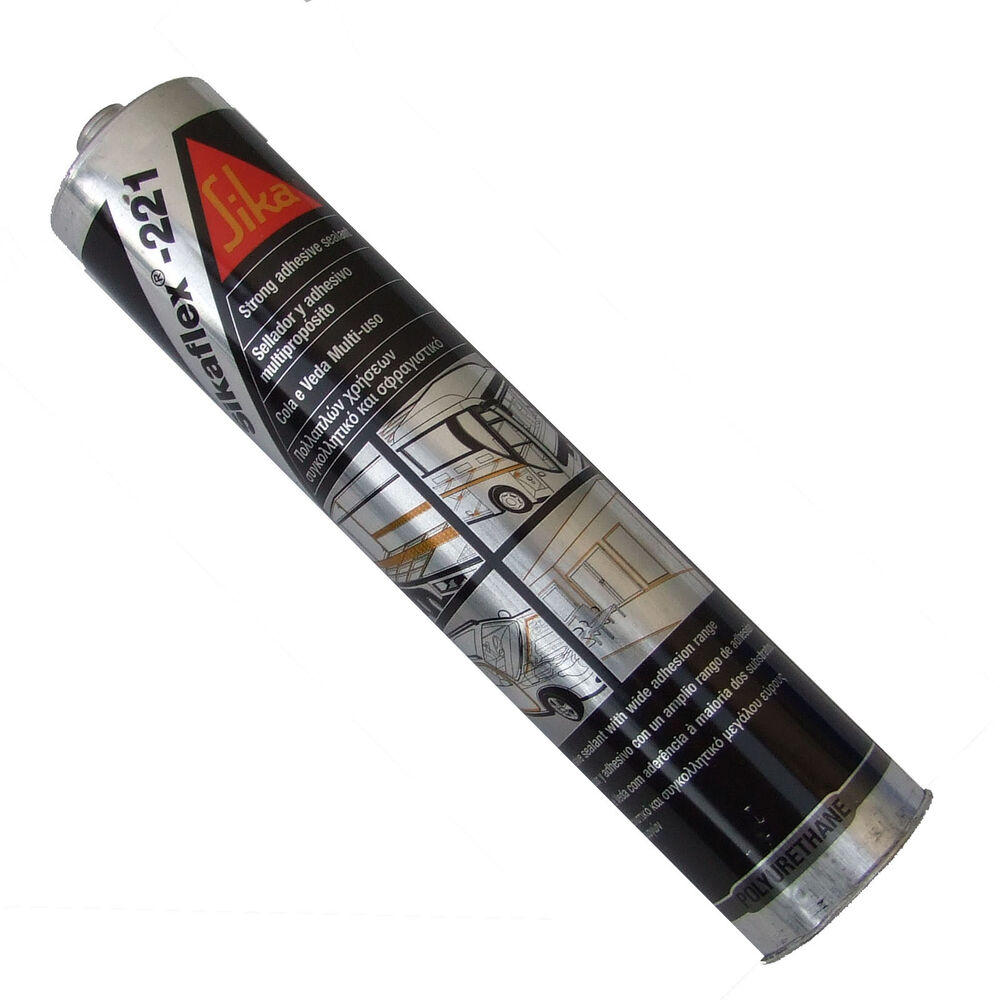 Sikaflex 221 Black Mastic Sealant Adhesive For Campers