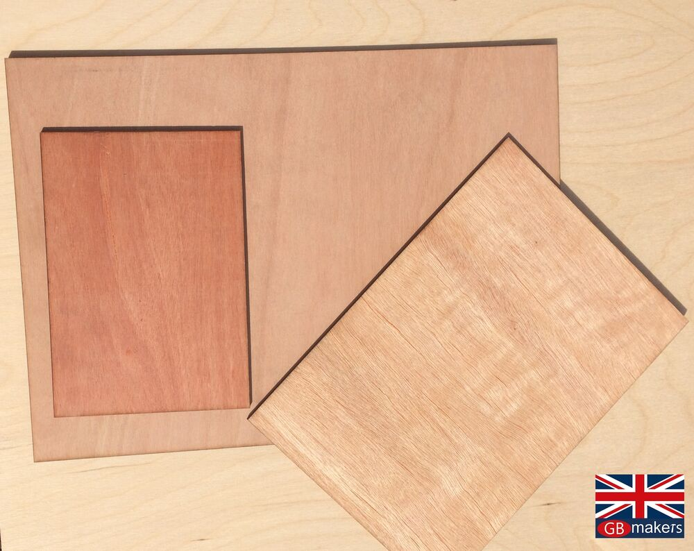 Plywood Sheets Ply Sheet A5 A4 A3 500mm 2 3mm 6mm Wooden