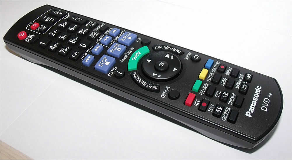 how to connect a panasonic remote to tv