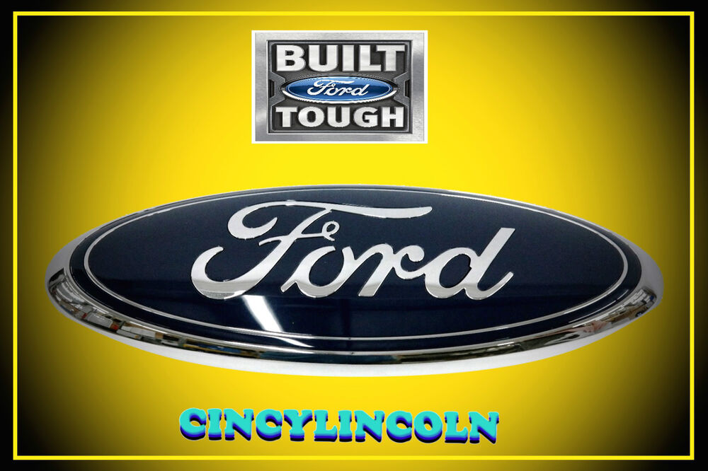 Tailgate Emblem Nameplate Badge Blue Oval 2008 2014 Ford
