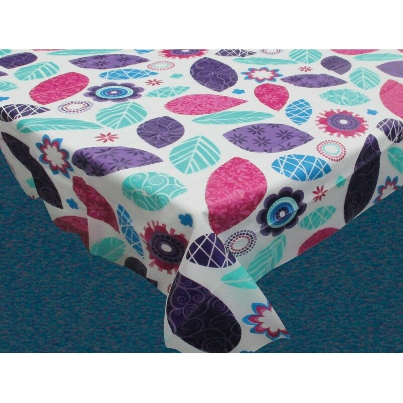 Spring Passion Flannel Backed Tablecloth Size 52 Quot X70