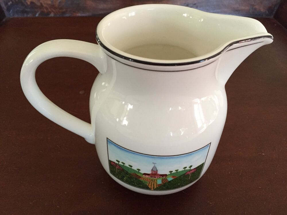 Villeroy boch naif milk pitcher ebay for Villeroy boch naif