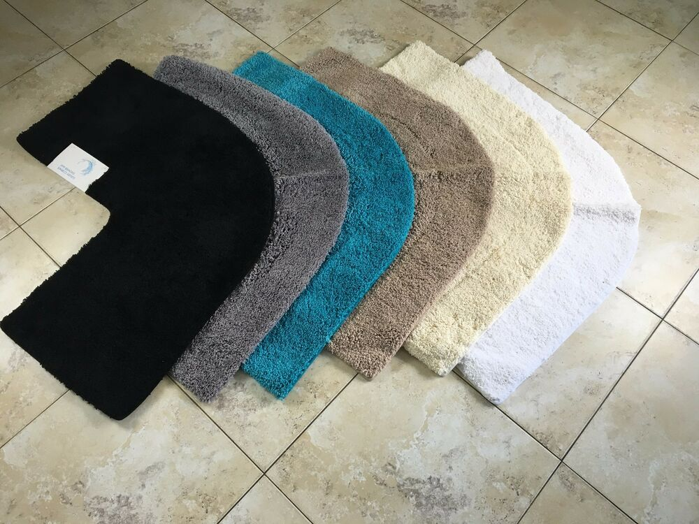 Microfibre Non Slip Corner Shower Mat From Cazsplash Ebay