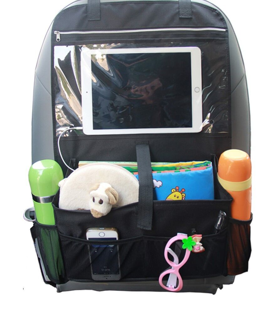 Toy Car Back Seat Organizer : Baby car suv back seat trunk organizer travel storage