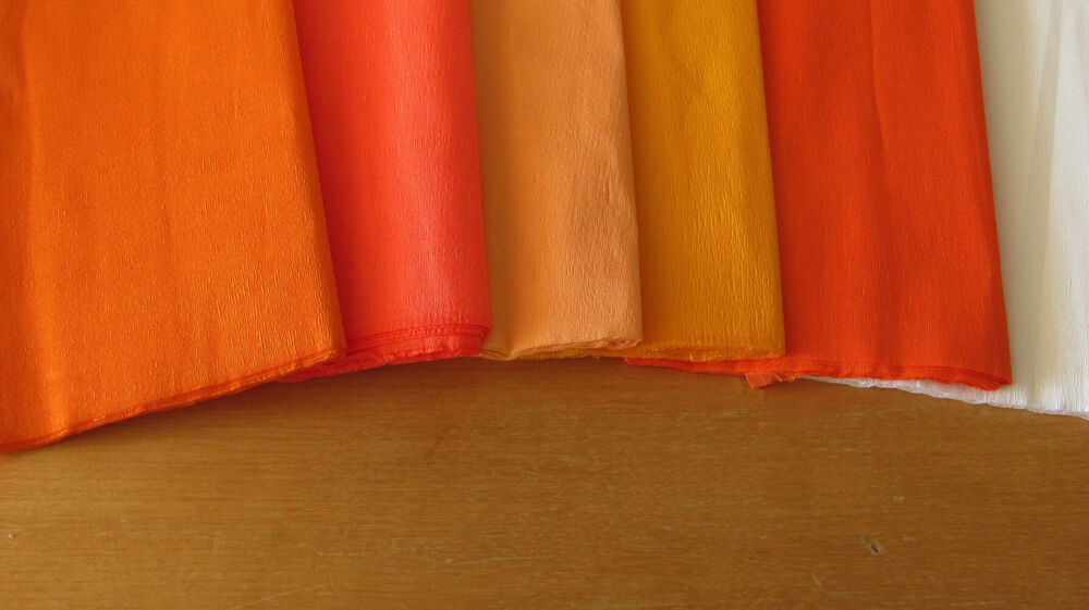 crepe paper sheets Jumbo 500 foot roll of white tissue crepe paper party streamers can be used to decorate the ceilings and walls of your next party white crepe paper streamers instantly create that party atmosphere.