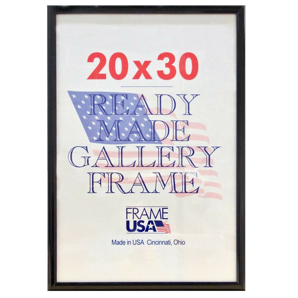 20x30 Deluxe Poster Frame w/Plexi-Glass - 3 Colors! : eBay