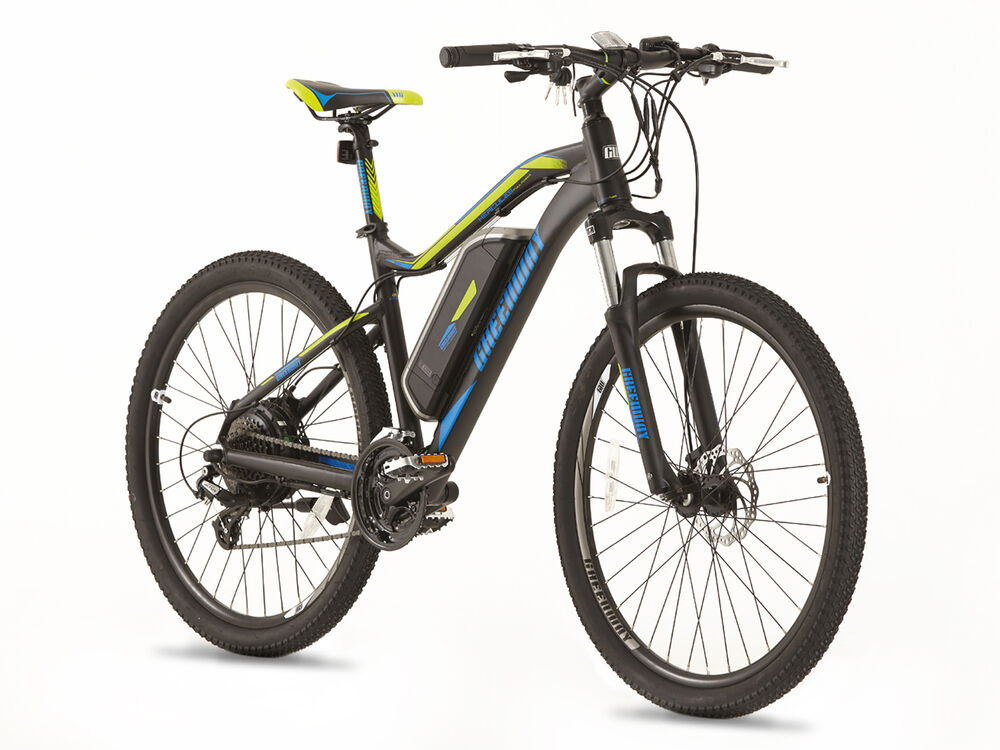 greenway electric mountain bike panasonic cell lithium. Black Bedroom Furniture Sets. Home Design Ideas