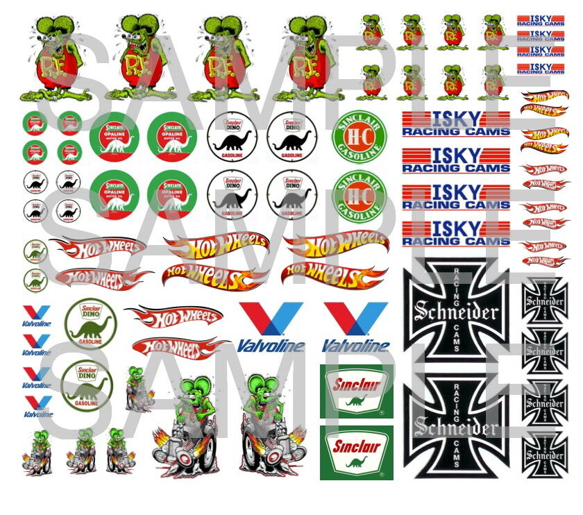 Hot wheels decals water slide 1 64 scale decal sheet 1 64 for Circuit hot wheels mural
