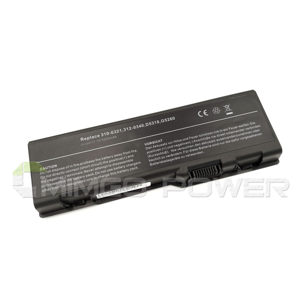 battery for dell inspiron 6000 9200 9300 9400 e1705 xps gen 2 d5318 d5318 yf976 ebay. Black Bedroom Furniture Sets. Home Design Ideas