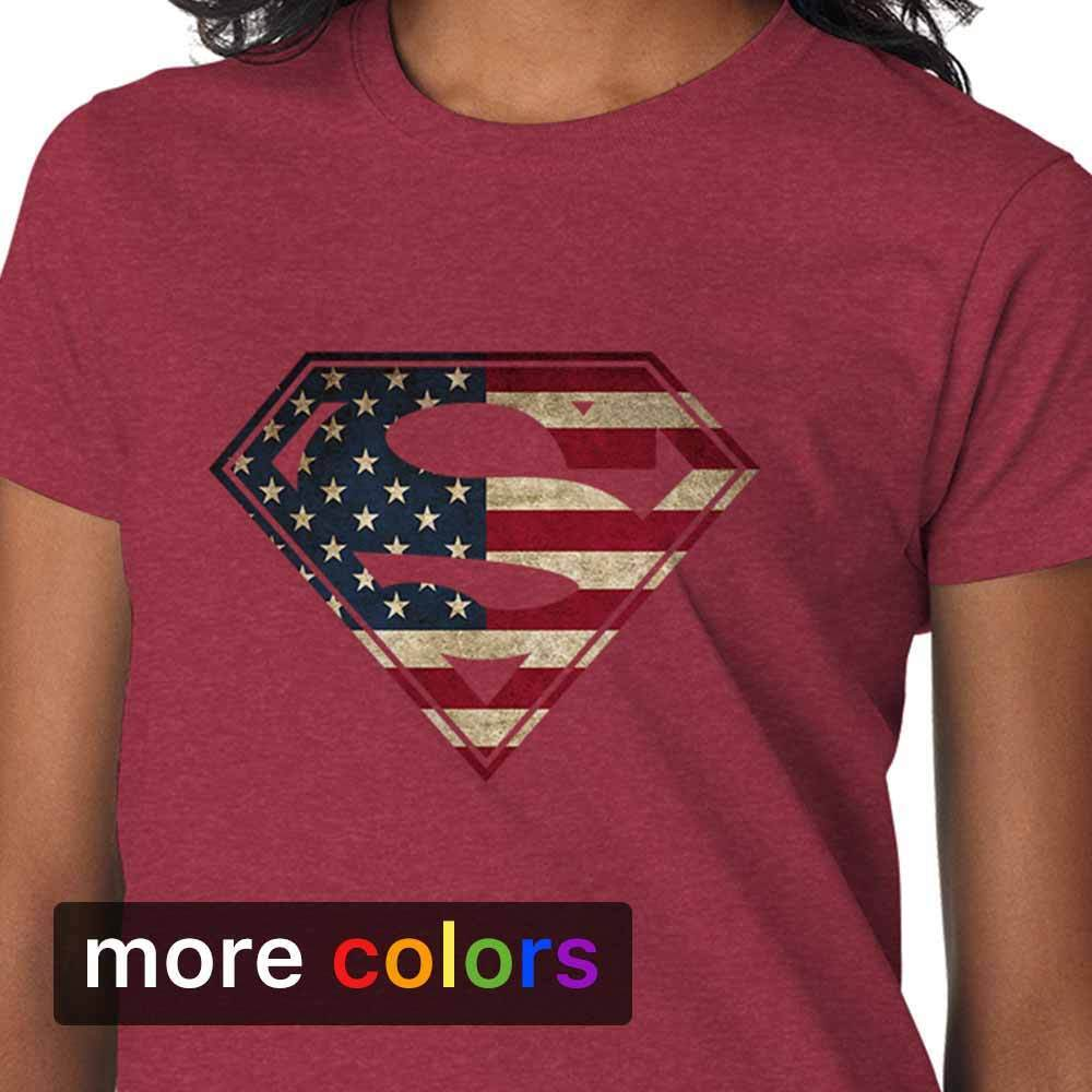 Superman T Shirt Womens
