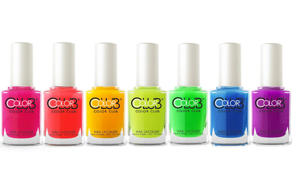 color club pop wash neon collection summer 2016 nail