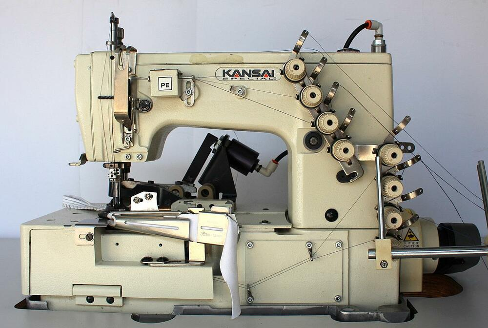 kansai special w8102is 3 needle 5 th picot coverstitch industrial sewing machine ebay. Black Bedroom Furniture Sets. Home Design Ideas