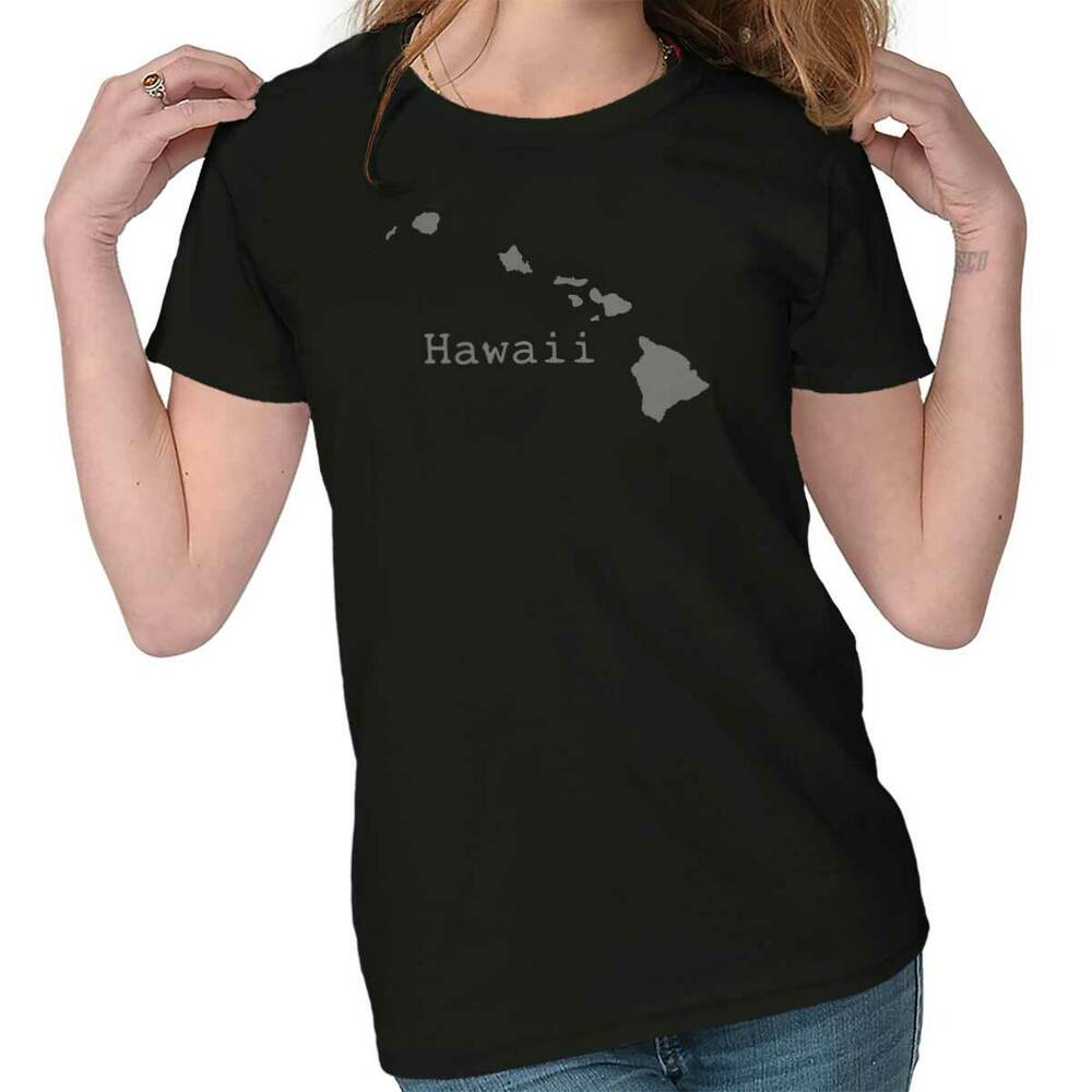 Hawaii state shirt state pride usa t novelty gift ideas for Hawaii souvenir t shirts