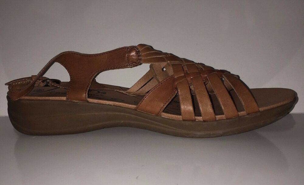 New Bare Traps Jabber Women S Brown Leather Sandals Shoes
