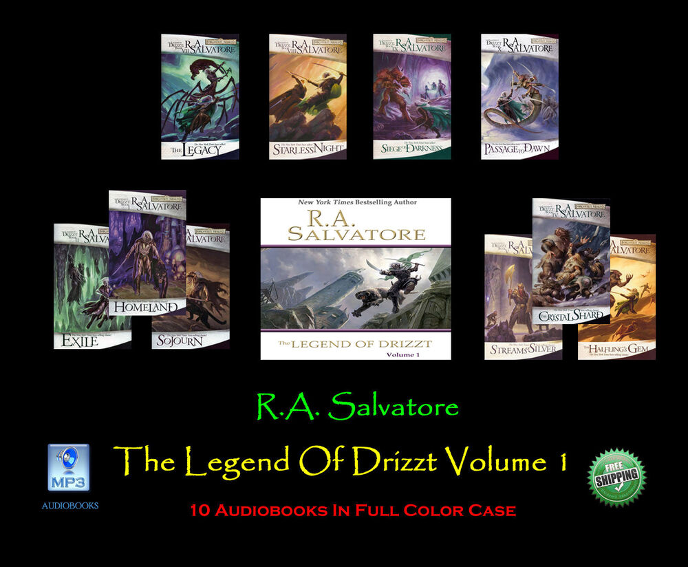 books by ra salvatore list