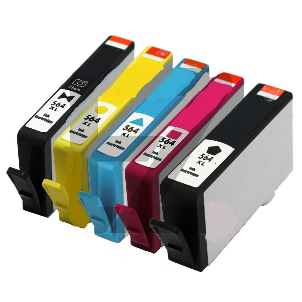 5P New Generation HP 564XL Ink Cartridge for Officejet ...