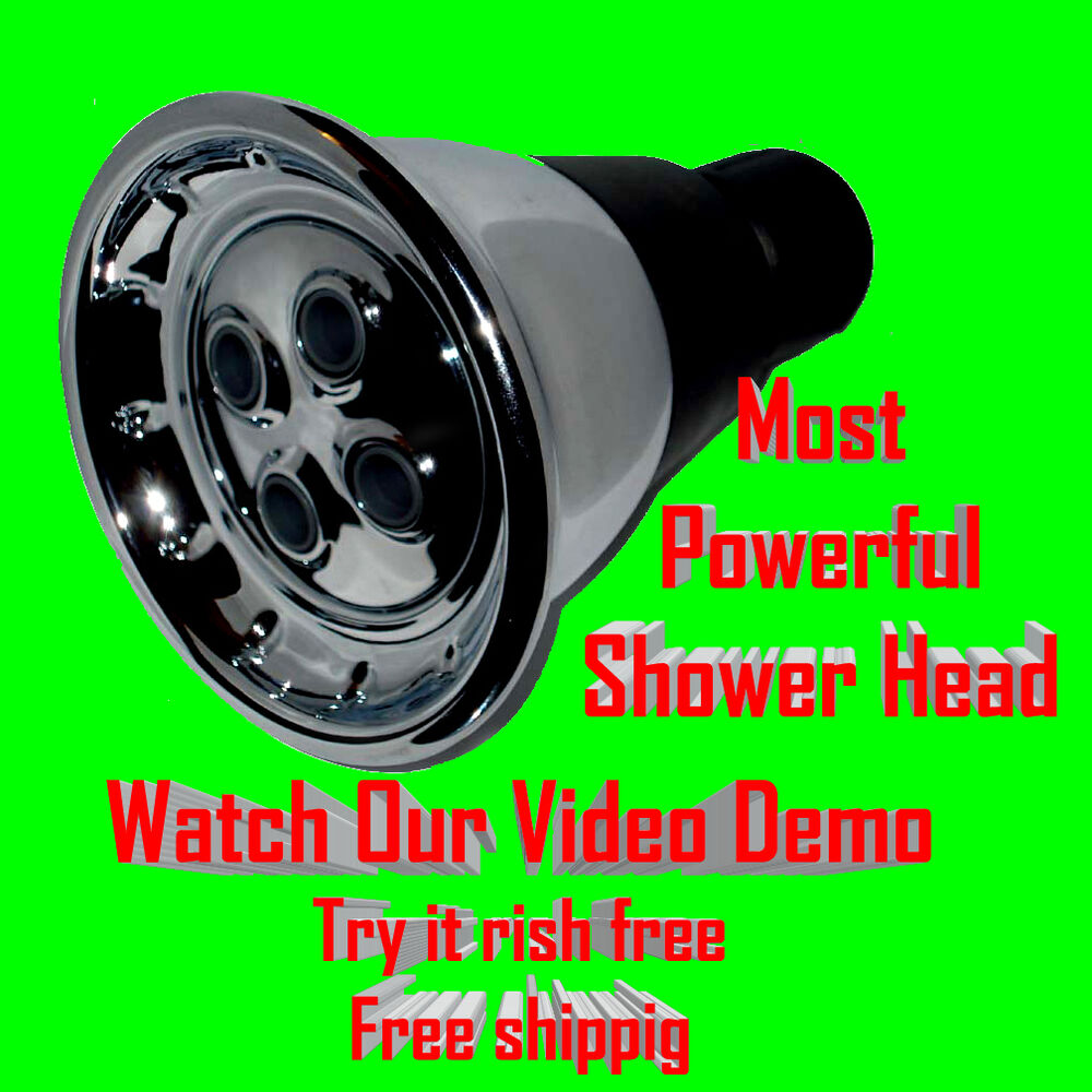 super high pressure shower head upgraded strong powerful showerhead