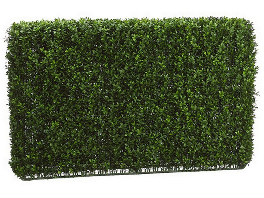 3 Wide 2 Tall Artificial Outdoor Uv Boxwood Hedge