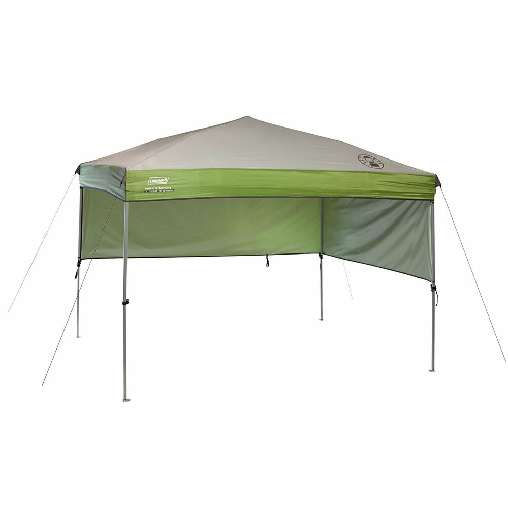 Coleman Instant Canopy Sunwall Accessory Only Ebay