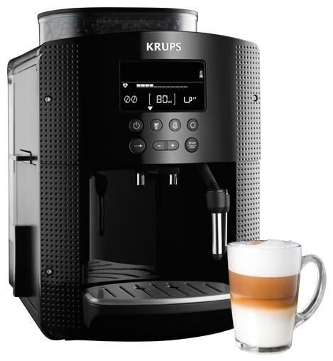 krups ea8150 automatic cappuccino espresso coffee maker black ebay. Black Bedroom Furniture Sets. Home Design Ideas