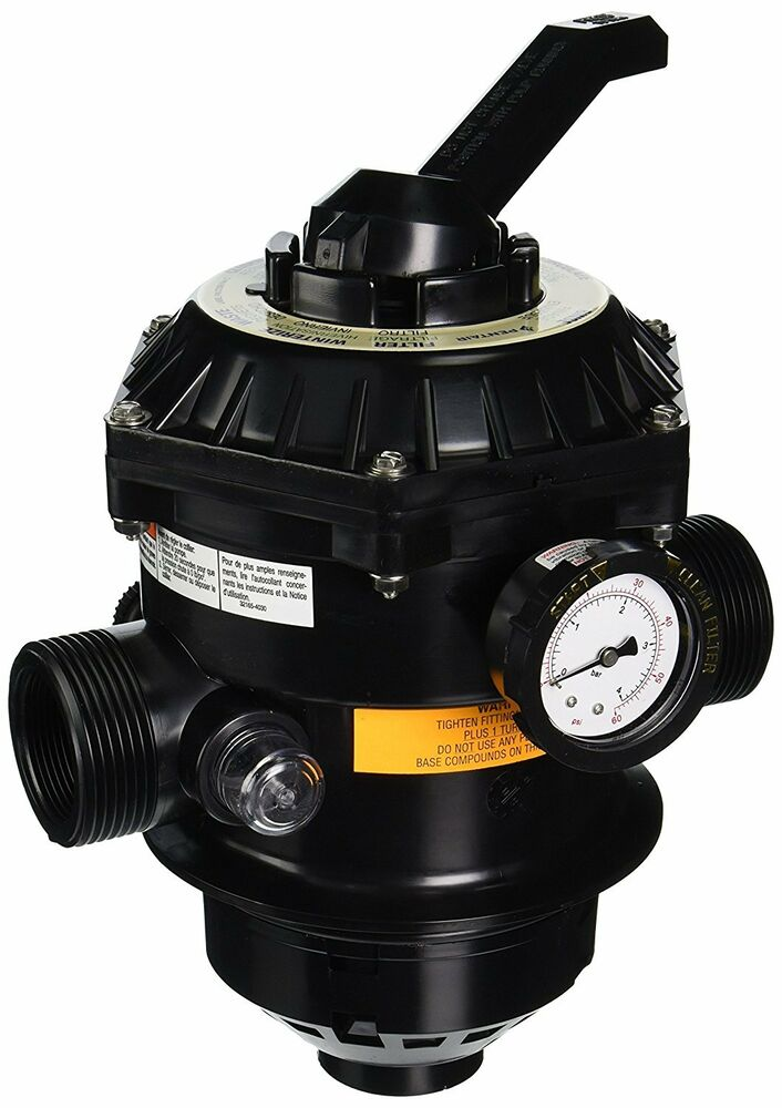 Pentair 262506 1 1 2 And 2 In Backwash Valves For Top Mount Sand Filter New Ebay