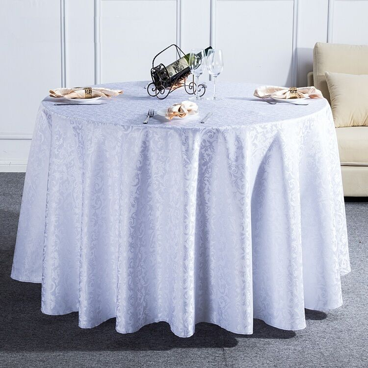 1m round tablecloth table cover cloth flower pattern for Table exterieur 1m