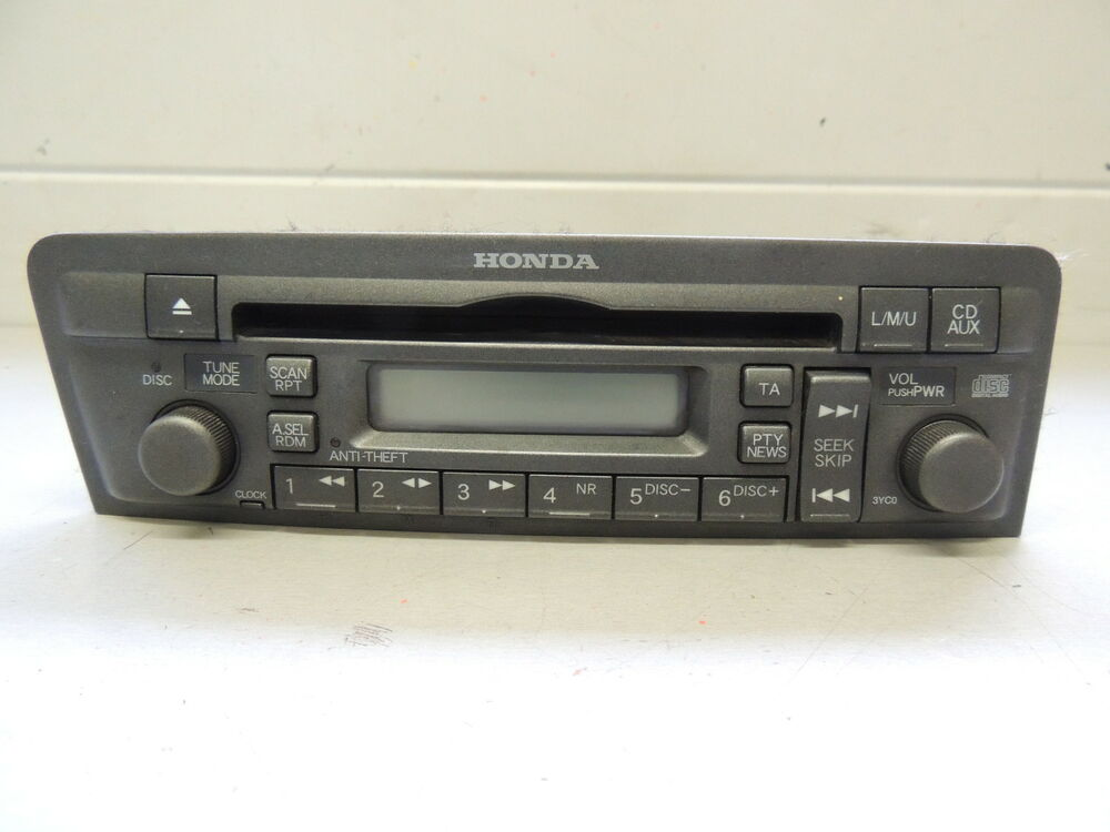 honda civic cd auto radio spieler 39101 s6a e512 m1 cd. Black Bedroom Furniture Sets. Home Design Ideas
