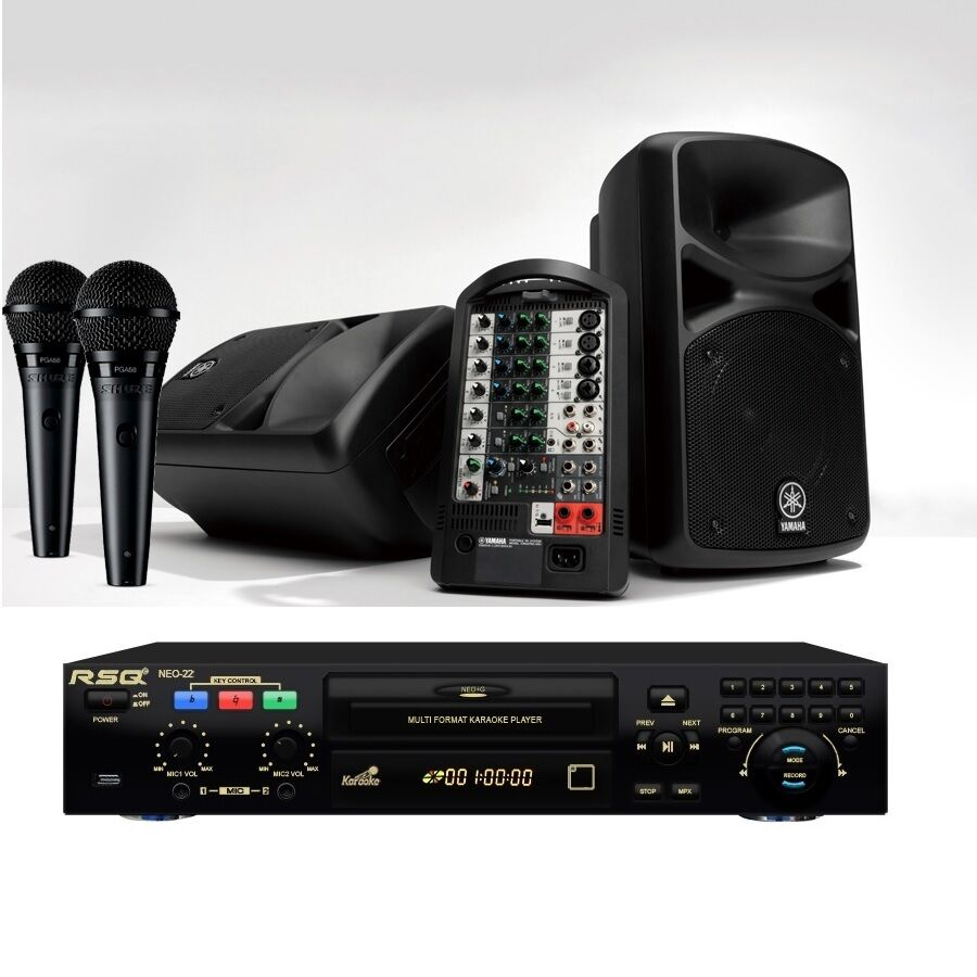 New Portable Karaoke System Yamaha Sound Stage Pass 400