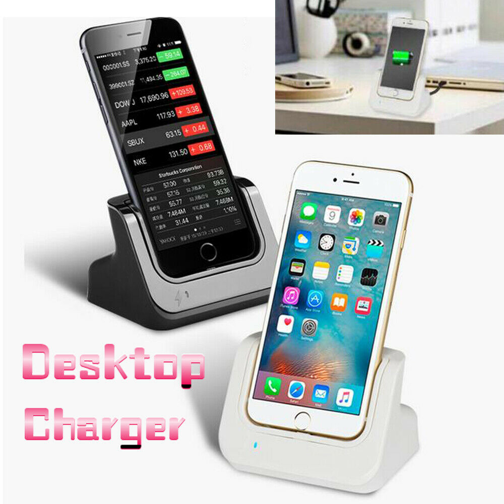 iphone 5s dock desktop charger cradle charging dock stand station for 11192