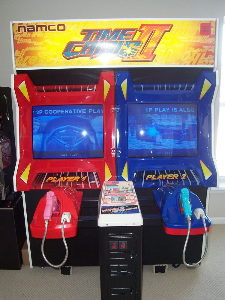 TIME CRISIS II DUAL ARCADE SHOOTING CLEAN AWESOME | eBay