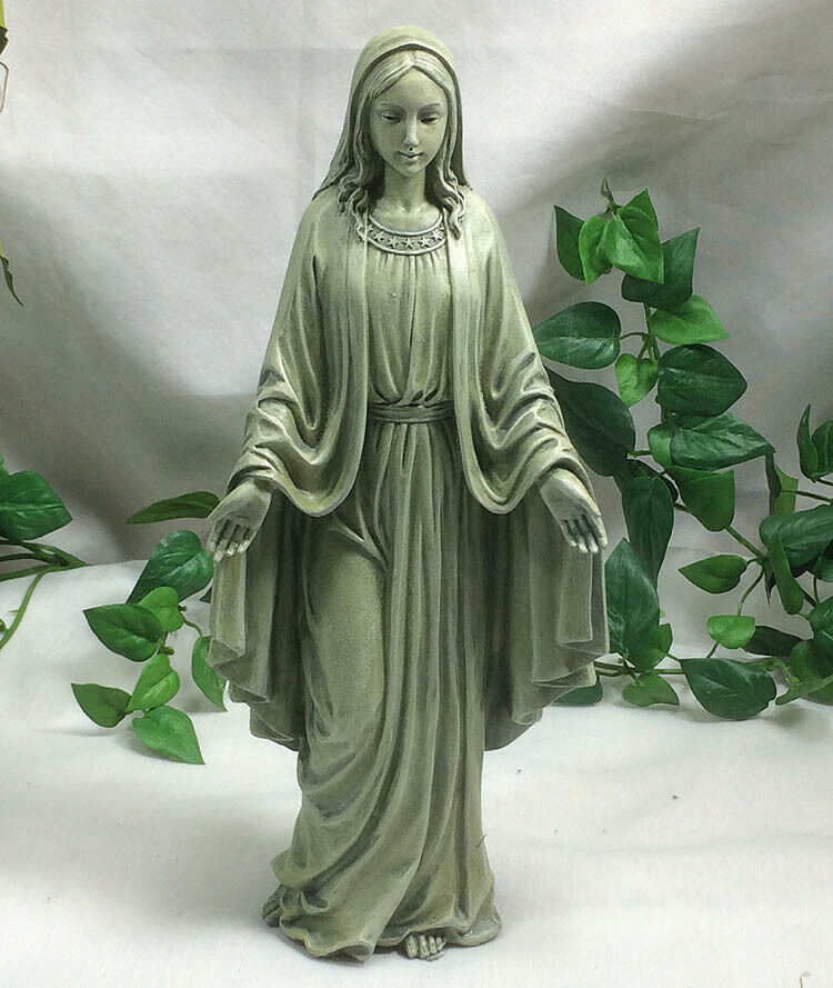 Holy virgin blessed mother mary of jesus garden statue for Virgin mary garden statue