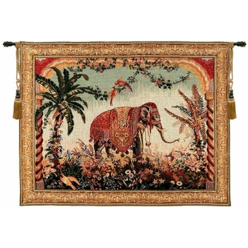 Royal Elephant French Tapestry Wall Hanging Ebay