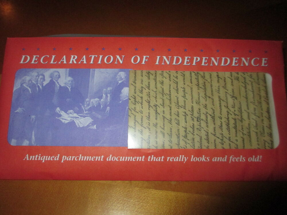 declaration of independence paper Declaration of independence: overview of the declaration of independence, the july 1776 document that announced the separation of 13 north american colonies from great britain.