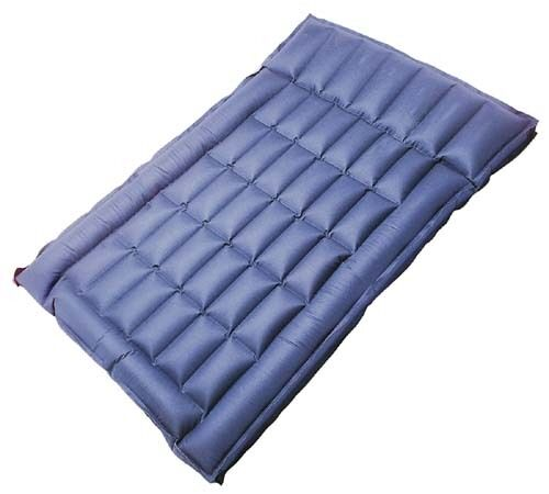 Freepost rubber air bed double box wall cotton inflatable for Wall pillow for bed