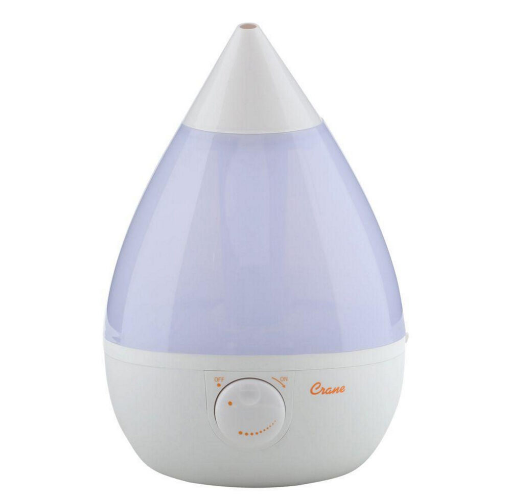 crane drop ultrasonic cool mist humidifier crane ultrasonic 1 gallon cool mist tabletop air 9507