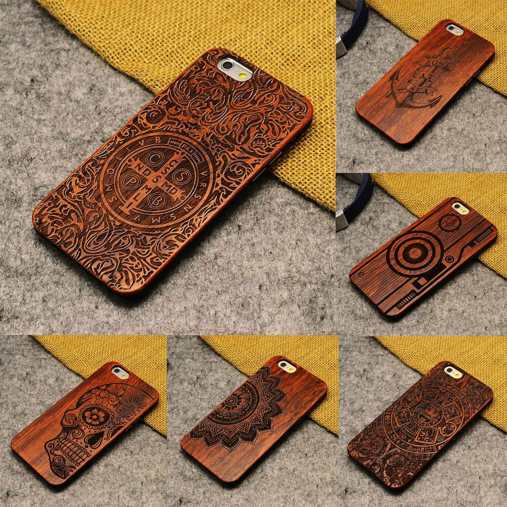 wood iphone cases carved wooden wood pattern phone cover for 13323