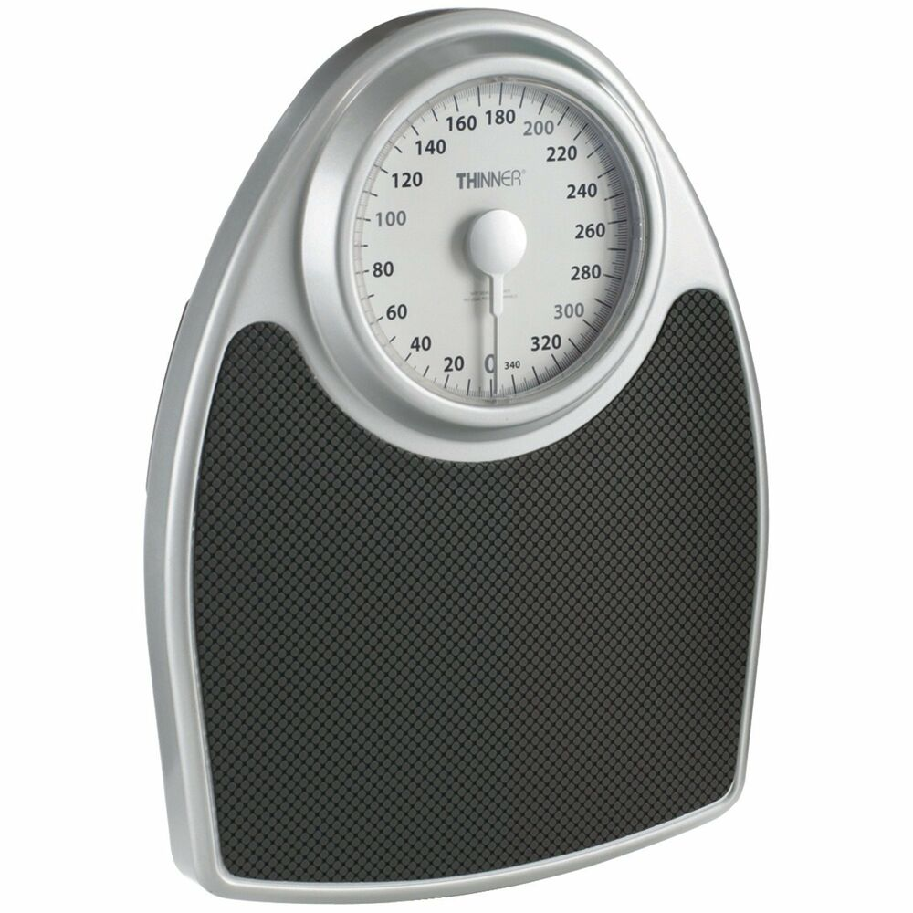 Conair Precision Large Extra Dial Scale Analog Body Weight ...