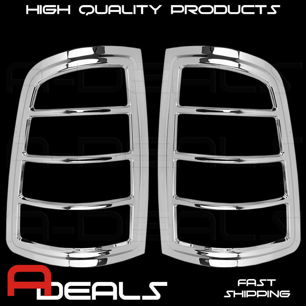 For Dodge Ram 1500 2009 2015 2500 3500 10 15 Chrome Tail