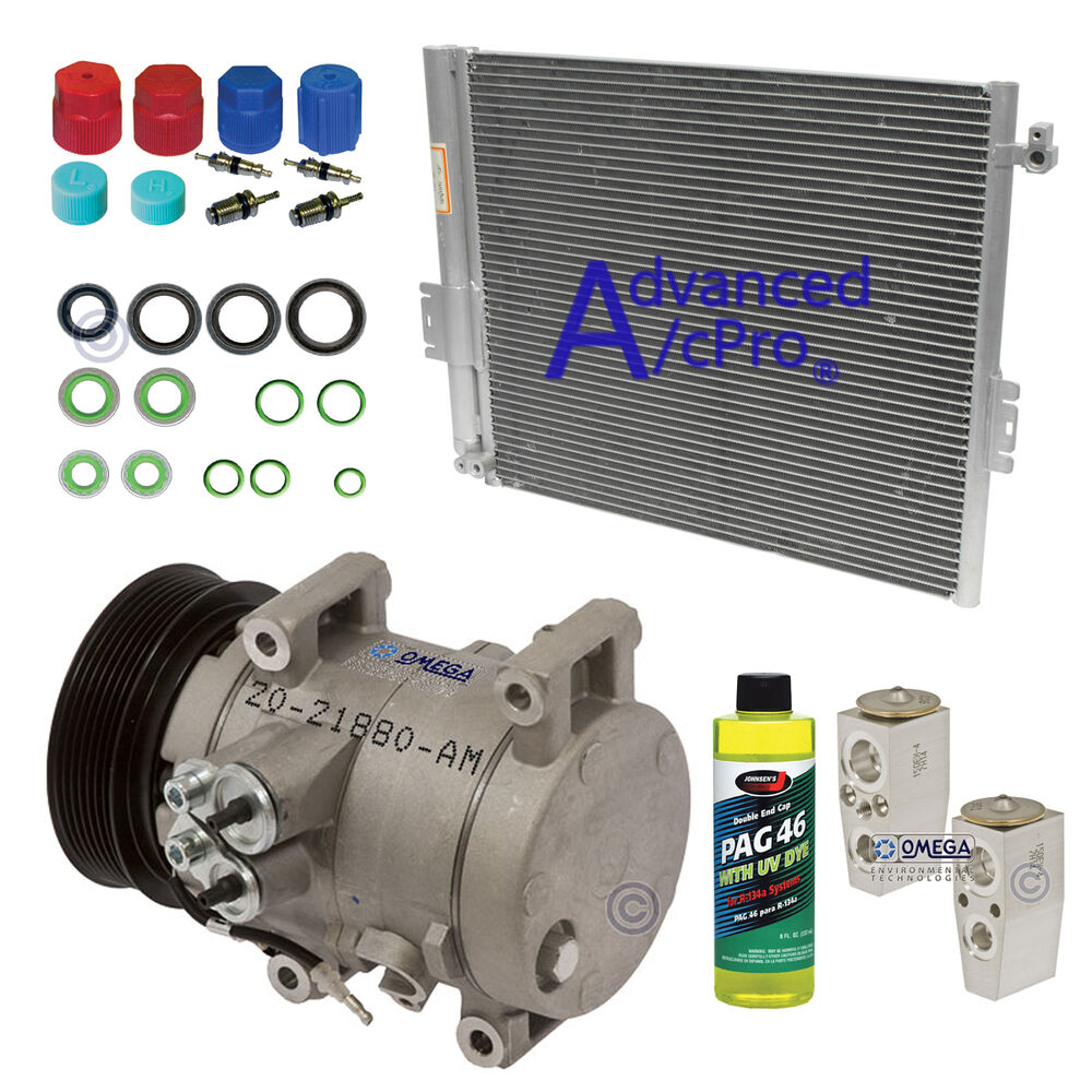 Turbo Kit Tacoma 4 0: New AC A/C Compressor Kit Fits: 2005