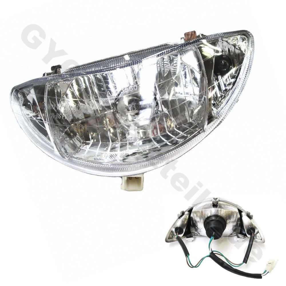 Scooter Headlight Assembly : Sunny headlight chinese scooter moped gy stroke baotian