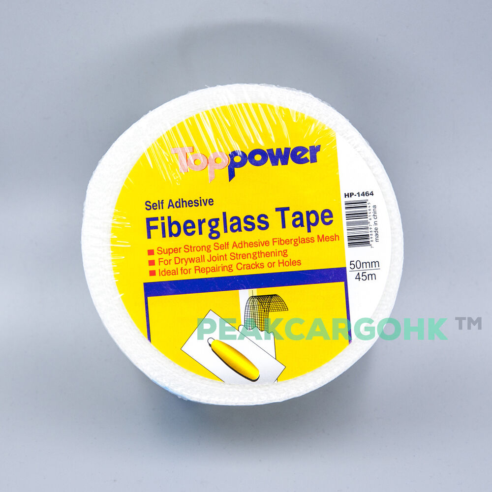 Mesh Sheetrock Tape : Fiberglass drywall joint mesh tape self adhesive quot