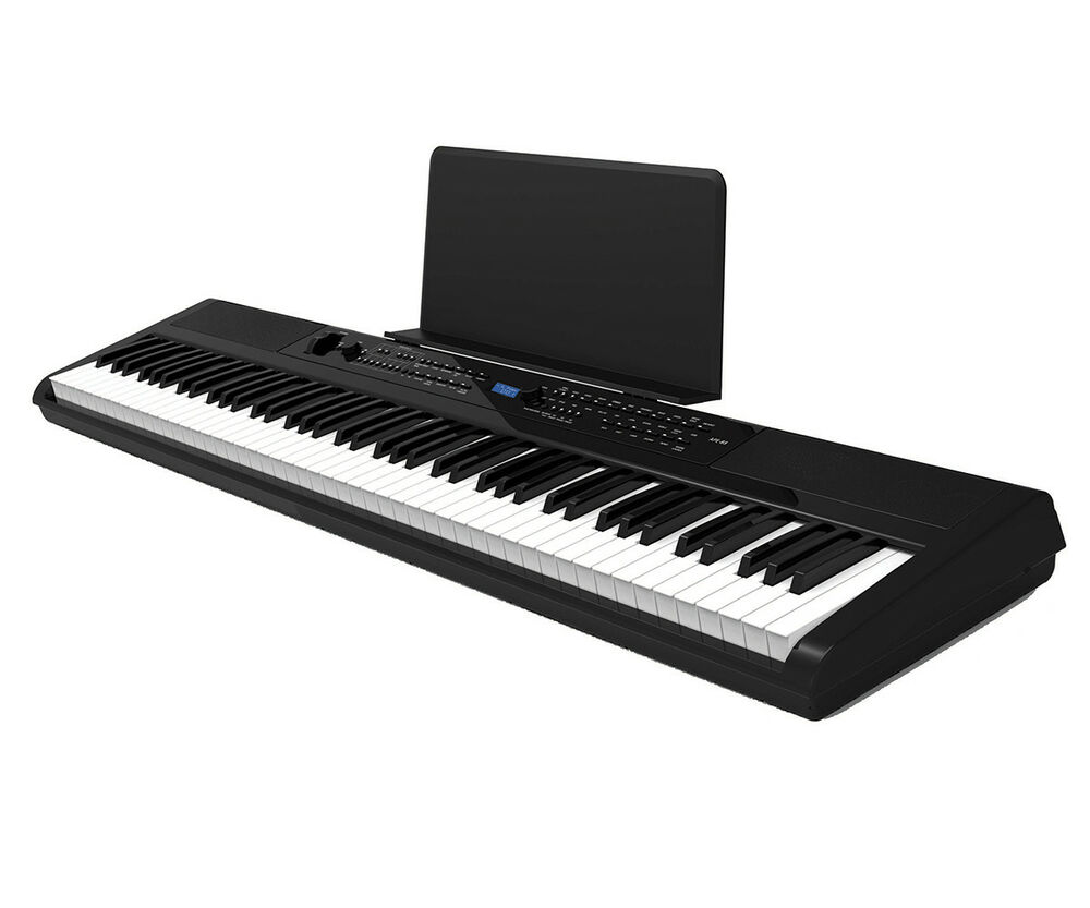artesia pa 88w portable weighted 88 note electronic digital piano keyboard w usb 859974004459 ebay. Black Bedroom Furniture Sets. Home Design Ideas