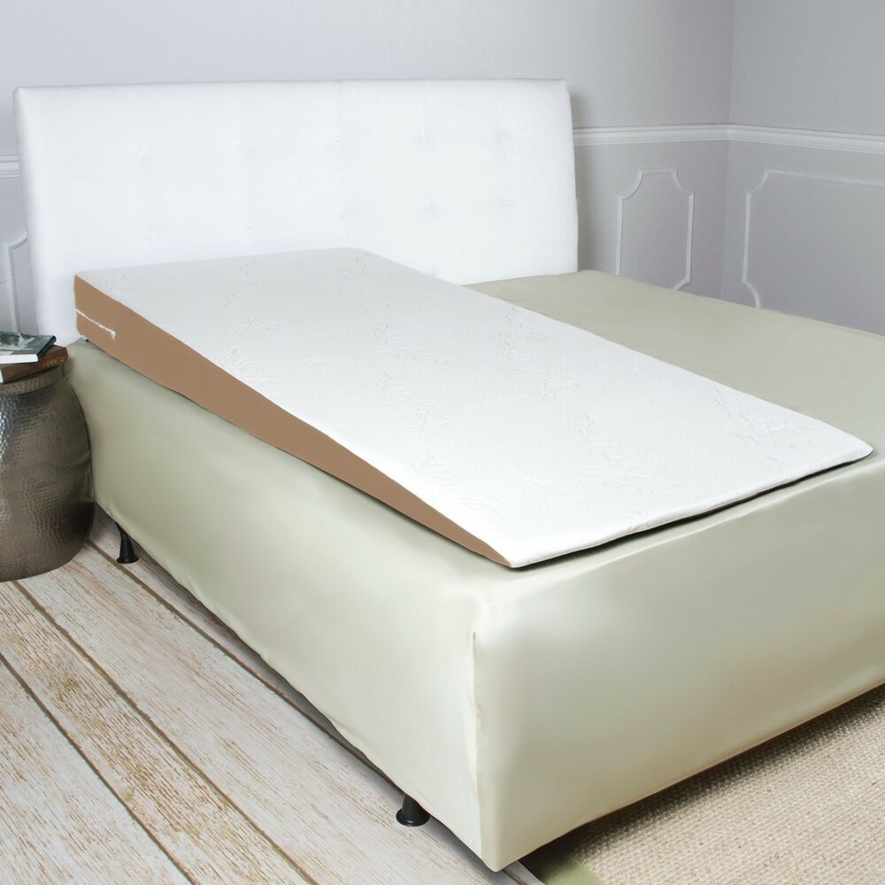 Avana superslant full length acid reflux bed wedge pillow for Full bed with mattress included