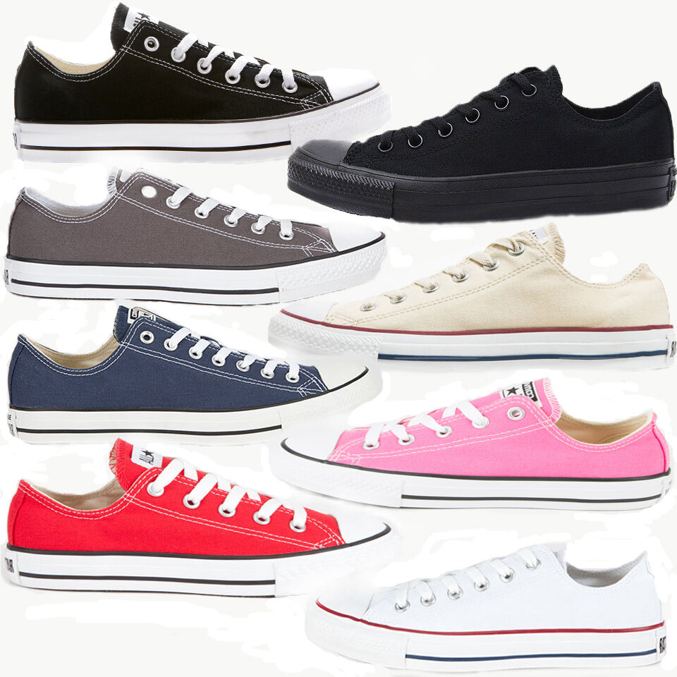 converse all star chuck taylor low top ebay
