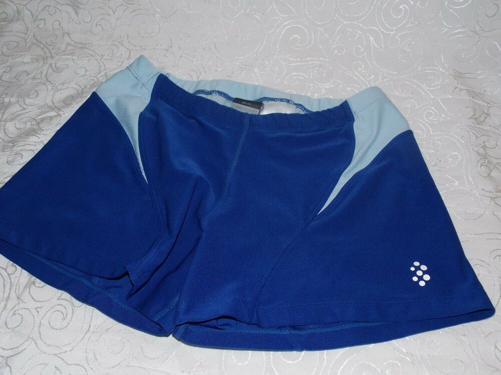Nike Spandex Shorts Womenu0026#39;s Sexy Yoga Gym Workout Short Size XS 0-2 Blue Dri Fit | eBay