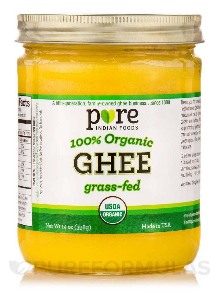 Ghee In Glass