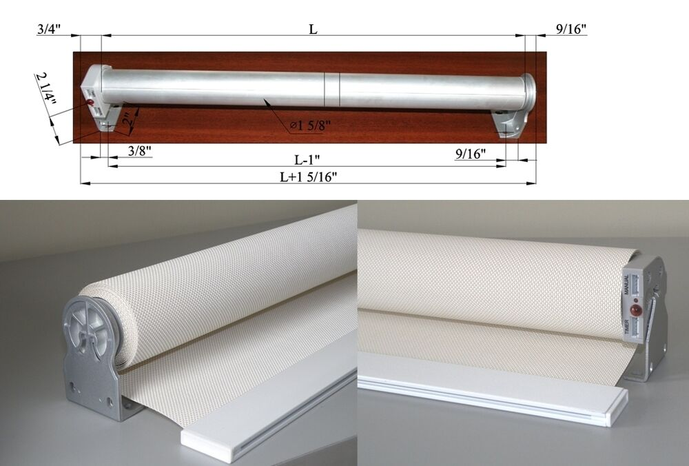 Remote 12v dc powered electric window shades blinds rod for Electric skylight shades motorized blinds