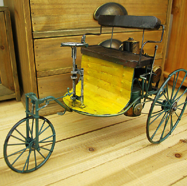 Makers Of Antique Tricycles : Vintage hand made benz tricycle world first old car
